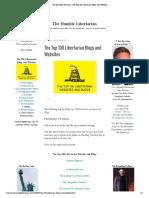Top 100 Libertarian Blogs and Websites