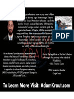 Elect Adam Kraut for 2017 NRA Board Handout