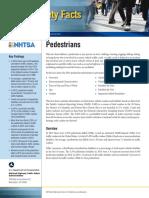 2015 Traffic Safety Fact Sheet Pedestrians