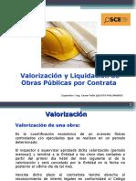 Valorizacion y Liquidacion de Obras Por Contrata