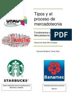 Tipos y El Proceso de Mercadotecnia