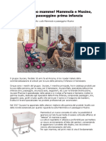 Joyello Mammola e Musino, Culla e Passeggino Prima Infanzia