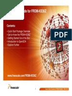 FRDM-KE06Z Quick Start Guide (Rev 1.0)