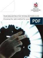 Your Non Destructive Testing Methods Guide Choosing the Right Method for Your Needs