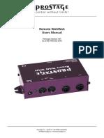RemoteWahWah Users Manual
