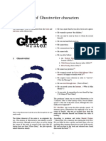 List of Ghostwriter Characters