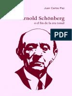 PAZ, J. - Arnold Schönberg o el fin de la era tonal (2).pdf
