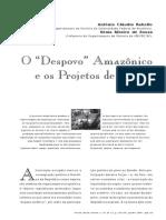 Amazônia e a Questão Nacional