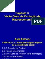 Capítulo 3 Visão Geral Da Evolução Da Macroeconomia