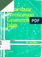 Dasar Dasar Perencanaan Geometrik Jalan Silvia Sukirman