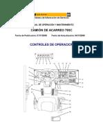 Manual de Operación y Mantenimiento - Camión de Acarreo Cat 793c
