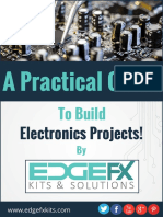 Edgefx Technologies, A practical Guide to build electronic projects!.Telangana, India, Edgefx, s/a.