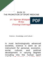 Dr. Nyoman Blok 22 - The Promotion of Sport Medicine