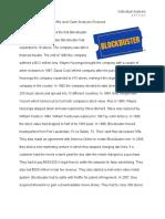 Blockbuster Case Analysis-1