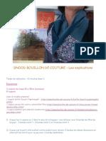 Snood Bouillon de Coutur1