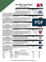 4.14.17 Minor League Report