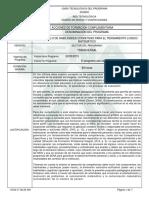 Informe Programa de Formación Complementaria - Pensamiento Logico Matematico