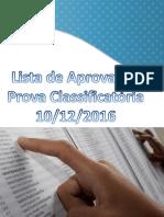 Lista Prova Selecao 201602 Completa