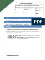 INSTRUCTIVO DE TRABAJO  PERFIL INDIVIDUAL FACTURACION ELECTRONICA..docx