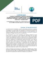 """Permisividad de la FANB frente actuación de colectivos armados, está mutando hacia actos de """"cooperación"""""""