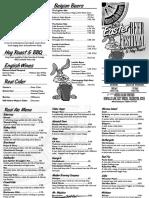 Mersea Island Easter Beer Festival Programme
