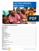 Rotarian Action Groups Officer Directory En
