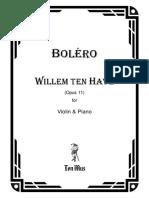 Willem Ten Have - Bolero