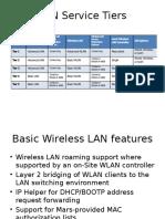 Wireless LAN Service Description