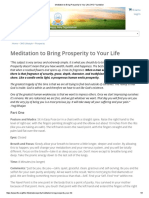 Meditation to Bring Prosperity to Your Life _Kundalini