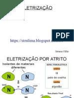Eletrostática aula 01 -Eletrização