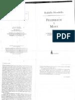 Feuerbach y Marx.