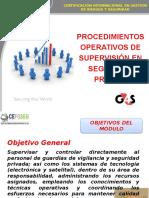 Supervisor de Procedimientos Operativos