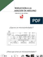 Introduccion a La Programacion en Arduino