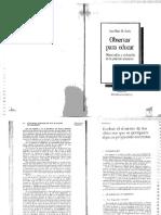 De Ketele, Jean Marie. Observar Para Educar. Observación y Evaluación de La Práctica Educativa. Capítulo III