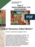 CEPECH, EUROPA MEDIEVAL Y EL CRISTIANISMO.Madrid,Cepech,s/a.