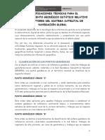 ESPECIFICACIONES TÉCNICAS PARA EL POSICIONAMIENTO GEODÉSICO ESTÁTICO RELATIVO CON RECEPTORES GNSS