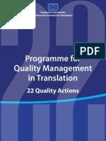 Quality Management Translation En