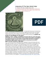 Basic Understanding of the New World Order-21