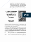 A conversation with Peter Senge, New developments in organizational learning.pdf