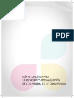 guia metodologica para la revisión de manuales de convivencia