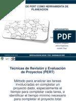 Planeación Diagrama PERT