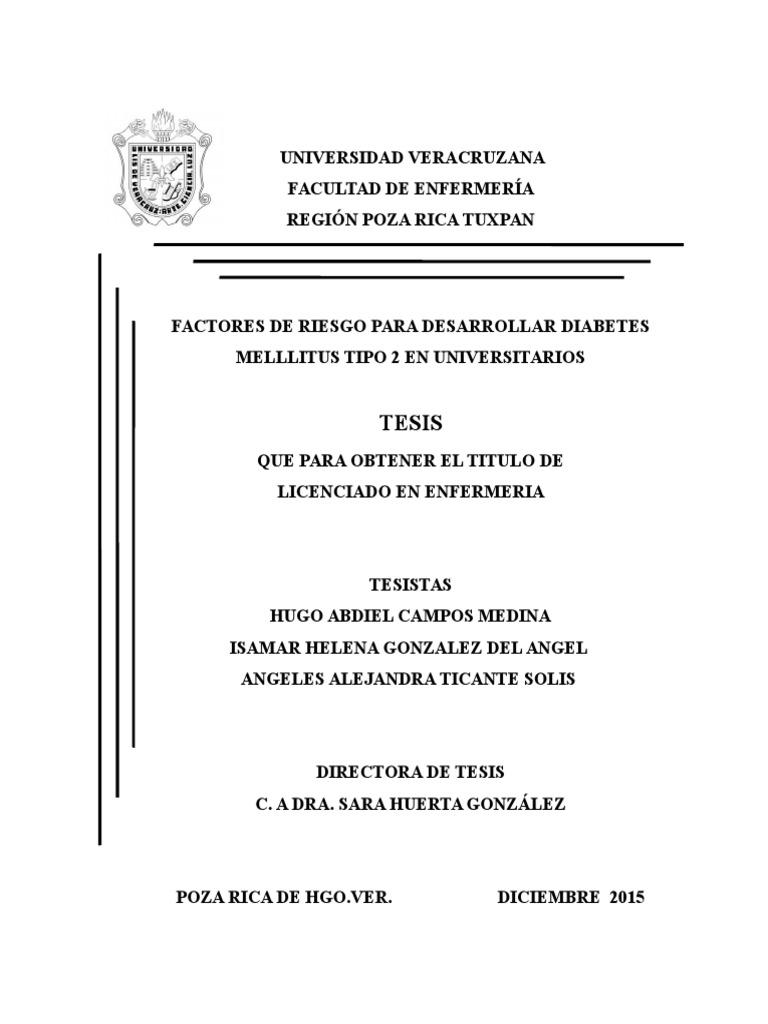 tesis sobre diabetes tipo 2 en kenia