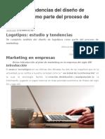 Análisis y Tendencias Del Diseño de Logotipos Como Parte Del Proceso de Marketing
