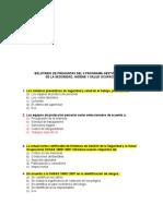 Balotario General Preguntas de Seguridad 8 de Febrero Tito