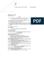 NASA Authorization Space Act of 2010