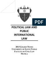 Ust 2013 Golden Notes-political Law (1)
