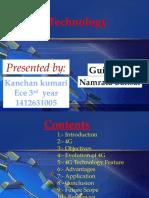 4g/3g technology ppt