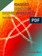 60531793 Modelo Pedagogico Para La Formacion de Docentes Universitarios Tesis Doctorado