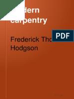 Modern Carpentry-A Practical Manual Vol 1 1917