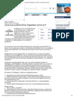 ¿Qué Tan Neoliberal Fue Argentina en Los 90?   Economía Para Todos